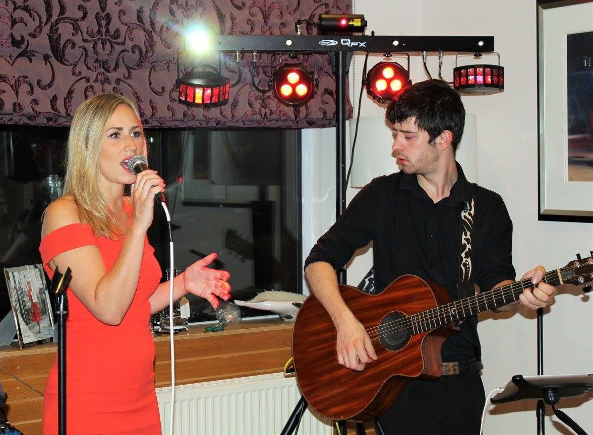 Lock and Key Acoustic Duo perform for a Surprise 70th Birthday Party; fantastic feedback yet again!